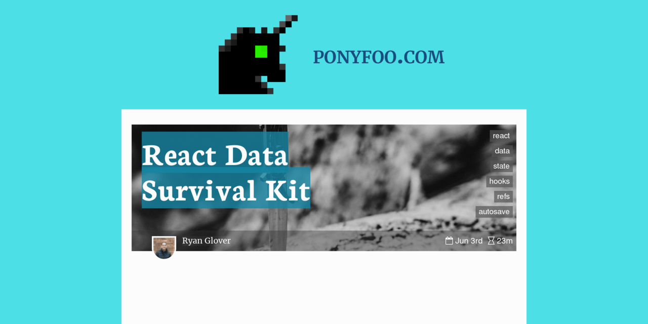 React Data Survival Kit